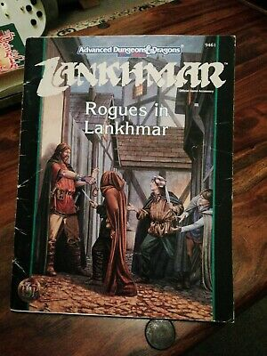 Advance Dungeons And Dragons Lankhmar Rogues In Lankhmar • 10£