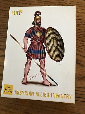 HaT Nap Assyrian Allied Infantry 1/72 Scale Figures 8121 • 3£