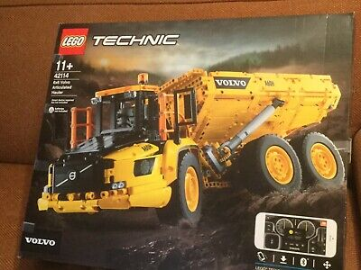 LEGO 42114 Technic 6x6 Volvo Articulated Hauler Construction Truck Building Set • 150£