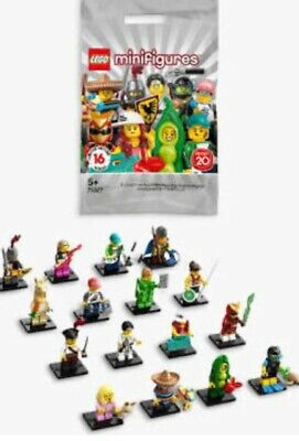 10 Packs LEGO Minifigures Series 20  71027  Brand New In Sealed Packet • 20£