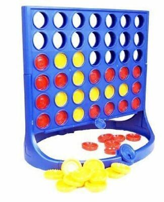 New Line Up 4 Game In Printed Box Children Family Fun Games Activity Connect 4 • 6.99£