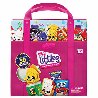 Shopkins Real Littles Collectors Case With Exclusive Mini Pack - HPKF9000 • 7.95£