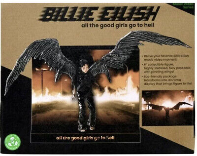 "Billie Eilish  All The Good Girls Go To Hell  Doll 6"" CD LP Rare Sold Out • 49£"