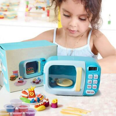 Kids Kitchen Play House MICROWAVE OVEN AIR DRY CLAY  Electric Appliance Toy • 15.99£
