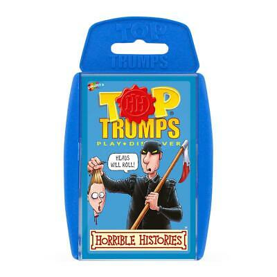 Horrible Histories Top Trumps Card Game • 4.99£