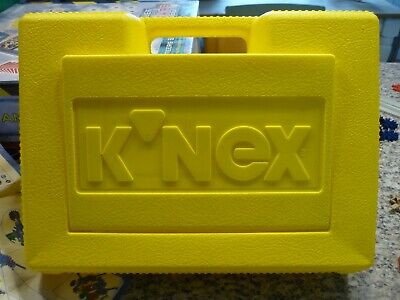 K'NEX Creative Construction For Kids, With A Yellow Carry Case • 5£