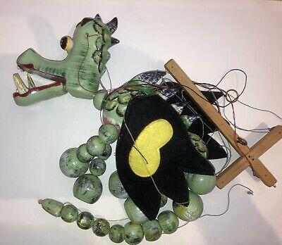 PELHAM PUPPETS - MOTHER DRAGON - Vintage Puppet Very Good Condition • 21£