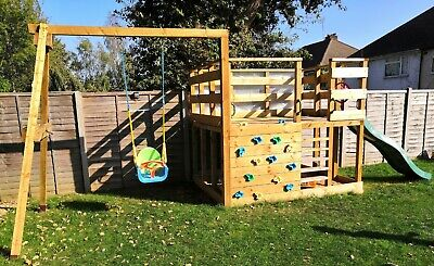 Climbing Frame With Sand Pit Space Underneath • 559£