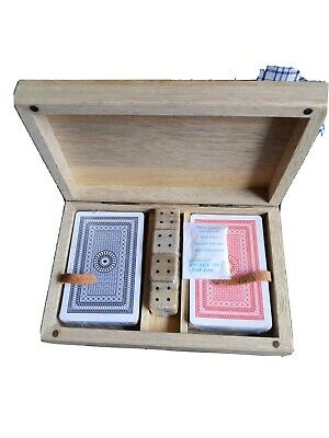 Nkuku Card And Dice Set In Box. Brand New. Ideal Christmas Stocking Filler. • 5£