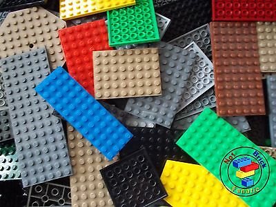 Lego 20 X Base Plates Boards Strips Bases In Mixed Colours ***OVER 2000 SOLD*** • 8.99£