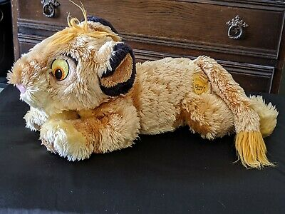 Simba Large Cuddly Toy From The Lion King From The Disney Store  • 6.99£