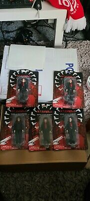 My Chemical Romance Coffin Figure Bundle. Gerard Way, Frank Iero, Mikey Way Etc. • 430£