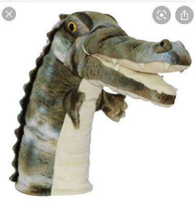 The Puppet Company Crocodile Alligator Hand Puppet Soft Toy • 5£