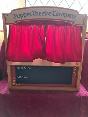 ELC Puppet Theatre And Finger Puppets • 21£
