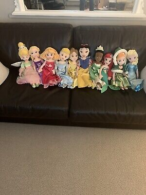 Disney Princesses Character Soft Toy Bundle • 30£