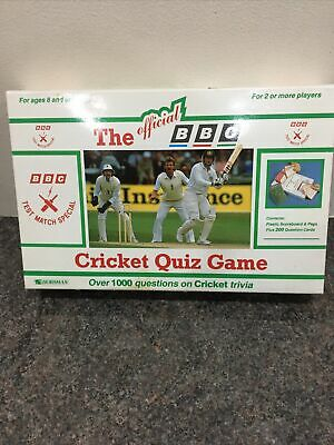 The Official BBC Cricket Quiz Game (1991) • 2.50£