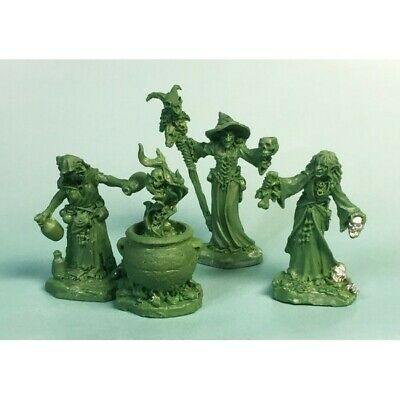 Reaper Miniatures - 04030 - Witch Coven (3)and Cauldron - DHL • 20.90£