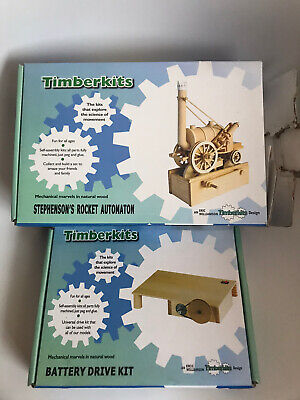 Timberkits Stephensons Rocket + Battery Drive Kit *NEW Other* • 19.99£
