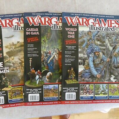Three Wargames Illustrated Magazines - Issues 260, 262 & 264 • 0.50£