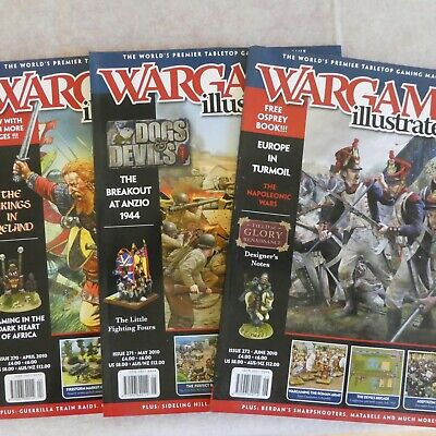 Three Wargames Illustrated Magazines - Issues 270, 271 & 272 • 0.50£