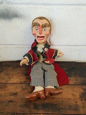 """Antique Puppet """" Punch And Judy Hand  Puppet  • 150£"""