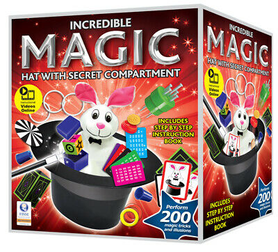 Magic Hat Trick Set Perform 200 Tricks • 17.99£