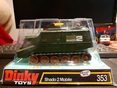Dinky Toys No 353 Shado 2 Mobile Flat Top Boxed. • 125£