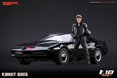 1:18 Knight Rider (Michael Knight)  VERY RARE!!! Figurine NO CARS !! For KITT SF • 104.28£