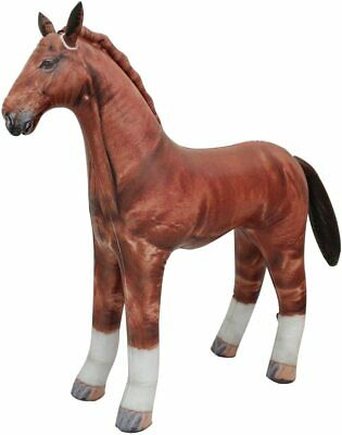 Inflatable Horse Blow Up Toy Large Farm Animal .Ideal Party Decoration. 38 Long • 18.99£