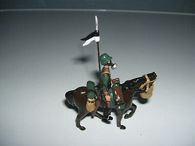Tommy Atkins Ww1 German Trooper Gas Mask Horse And Rider • 24.99£