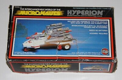 Micronauts Hyperion Incomplete Boxed • 18£