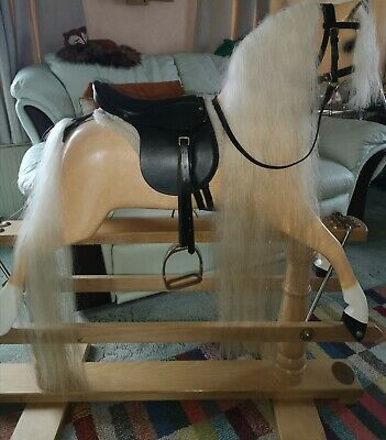 Wooden Rocking Horse By Ringinglow • 750£