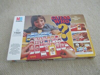 Vintage Guess Who ? Board Game - MB Games • 6.50£
