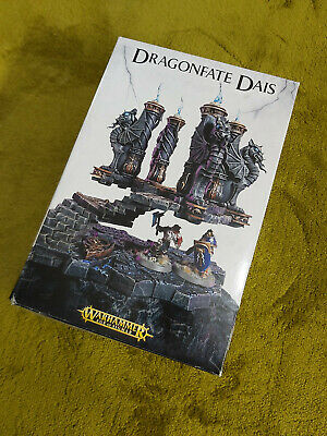 Warhammer Age Of Sigmar Dragonfate Dais OOP _ Boxed • 35£