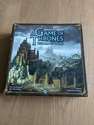 A Game Of Thrones The Board Game. Second Edition  • 3£