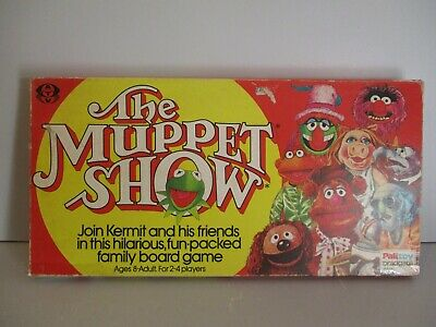 Rare Vintage The Muppet Show Board Game By Palitoy C.1977 Complete • 14.95£