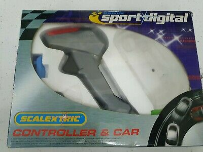 Scalextric Sport Digital Controller C7002 & Spare Guide Blades • 3.50£