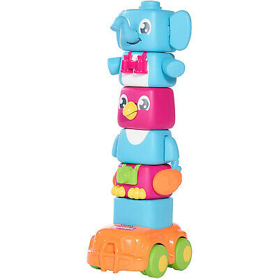 Tomy Toomies Multi Coloured Flappee Stackees Baby Developmental Toy  • 15.99£