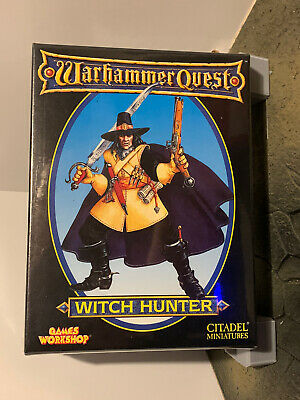 Rare Warhammer Quest With Hunter Sealed & Boxed Games Workshop Citadel • 105£