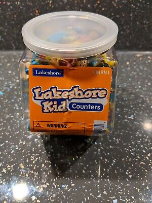 Lakeshore Kid Counters 100 Pieces For Helping Of Teaching Of Counting & Maths • 9.99£