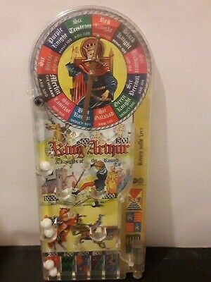 Bagatelle King Arthur & Knights Of The Round Table Vintage Marx Toys Pinball  • 39.99£