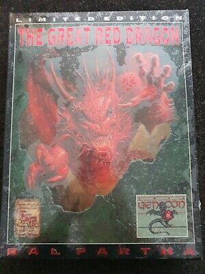 Ral Partha Limited Edition The Great Red Dragon • 51£