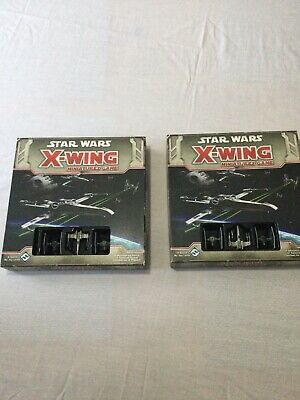 Star Wars X Wing Miniatures Game X 2 Sets • 8£
