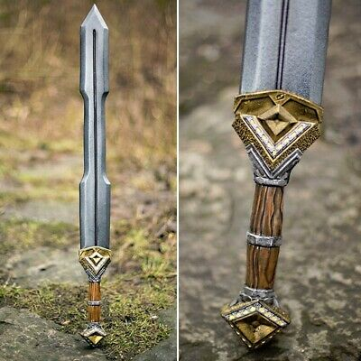 Foam And Latex Bendable Dwarven Sword, Ideal For Costume Or LARP • 73£