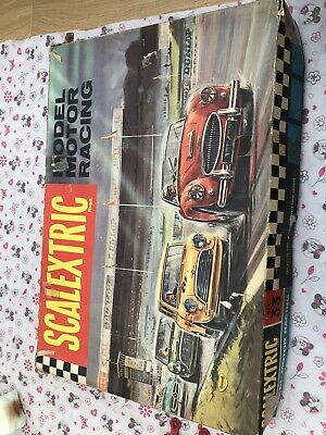 Vintage Scalextric Set 33 Austin Mini Cooper 1960s Tri-ang Minimodels Very Rare • 33£