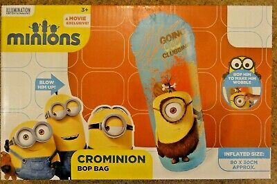 Minions - Crominion Kids Punching / Boxing Inflatable Bop Bag • 3.99£
