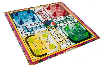 Traditional Classic Modern Full Size Family/Kids Adult Ludo Fun Games Boardgame • 7.44£