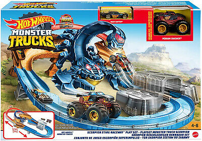Hot Wheels Monster Truck Scorpion Sting Raceway • 34.99£
