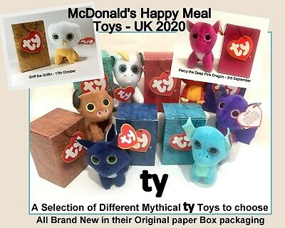 McDonald's Happy Meal Toys 2020 UK Ty Teeny Beanie Boo Soft Plush Toys -Various  • 3.95£