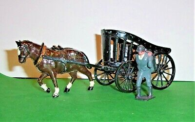 Rare Charbens 1934 Horse Drawn Coal Cart Complete With Coalman And Coal Sacks • 120£